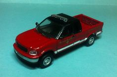 Atlas Ford F-150 Chicago Fire Department 1/87 Scale