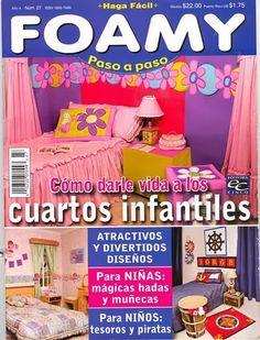 Revistas de manualidades Gratis: cuartos decoracion
