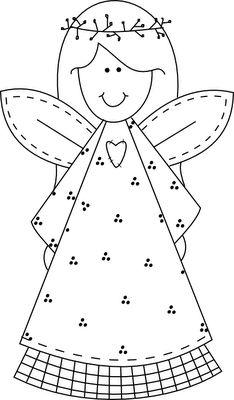 Beyond the Fringe: Primitive Angel Freebie