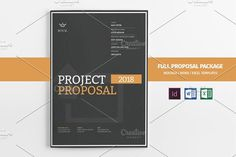 31 Page Full Proposal A4 / US Letter by Mastergfx on @creativemarket