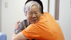 Also in Japan, an aide in a Kyoto group home embraced this unidentified resident living with Alzheimer's.    #alz #alzheimers #alzprevention #research #aging #medicine #brain #confusion #forgetfulness #brainhealth #seniorhealth #healthcare #hospital #physicians #homecare #homehealth #caring #oldage #older #elderly #elderly #brainage #plaque #senior #seniors #olderadults #alzchat #alztalk #alzfacts #dementia #love #family #heart