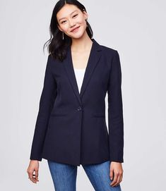 41402f6d Shop LOFT for stylish women's clothing. You'll love our irresistible  Softened Blazer -