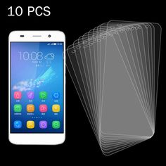 [$5.21] 10 PCS 0.26mm 9H Surface Hardness 2.5D Explosion-proof Tempered Glass Screen Film for Huawei Honor 4A / SCL-AL00