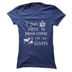 t-shirt Coffee & Goats