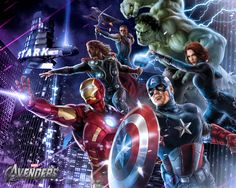 Impresionantes Wallpapers de The Avengers