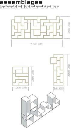 """wood working, library inspired by Tetris, filmed plywood """"WISA"""""""