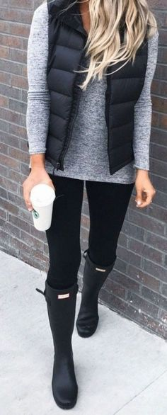 Black Vest Outfit Ideas pin on outfits chic summer outfits casual fall Black Vest Outfit Ideas. Here is Black Vest Outfit Ideas for you. Black Vest Outfit Ideas how to wear a vest and how not to. Black Vest Outfit Ideas h. Winter Outfits For Teen Girls, Cute Fall Outfits, Fall Winter Outfits, Summer Outfits, Casual Outfits, Preppy Winter, Outfits With Boots, Winter Style, Dress Casual
