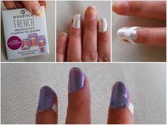Kynsitarroja. Essence french manicure. Tokmannilta. Kynsilakka. Kynnet