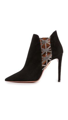 Aquazzura Thunder Booties