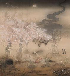 Promenade of the Mourning by Fuyuko Matsui