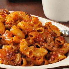 Lean Beef Italiano Casserole Recipe
