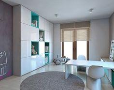 Dom jednorodzinny /Śląsk - Pokój dziecka, styl nowoczesny - zdjęcie od A2 STUDIO pracownia architektury