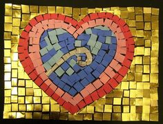 Paper mosaic art projects for kids mosaics pinterest mosaic young artists and students display their art for other kids worldwide to view this gallery displays schools and student art projects in our museum and sciox Image collections