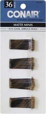 Conair Pin /& Style Mini Bobby Pin Pack lot of 6