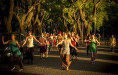 Candombe en Parque Chacabuco, Buenos Aires