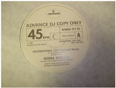 At £19.61  http://www.ebay.co.uk/itm/Donna-Summer-Unconditional-Love-Mercury-Records-12-Single-DONNA-212-DJ-Promo-/251160300984