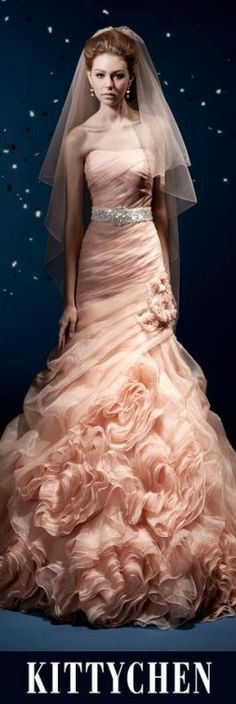 Pink Wedding Gown,beautiful