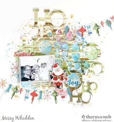 Thermoweb DT Project & 'Tis the Season YouTube Hop with Audrey Yeager; Carta Bella A Very Merry Christmas & Simple Stories Oh What Fun collections