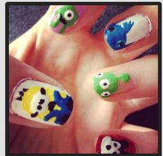 Disney Pixar nails