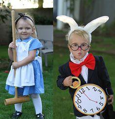 La clase de 2º C: Disfraces originales para los peques...Alicia en el país de las maravillas t el conejo