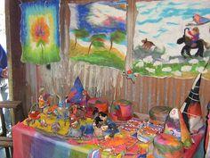 waldorf craft table