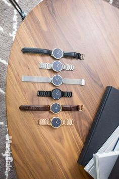 There are a variety of bands so that you can find a Huawei Watch that's perfect for your style