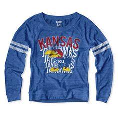 Kansas Jayhawks Women's Raglan