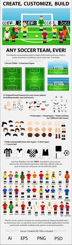 Soccer Creation Kit - Sports/Activity Conceptual