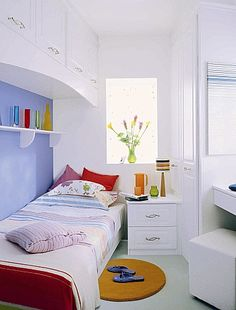 The Wall E Above A Bed Is Often Wasted In Tiny Box Room Use This To Build As Much Storage Possible