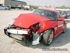 Porsche 911 996 crashed in Houston, Texas
