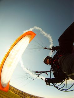 Paramotoring:  It only costs $10,000 and you don't need a license.  You take off in less than 3 minutes and you don't have to deal with traffic.  And it's completely safe as long as you stay away from thermals!