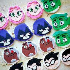 Are you gearing up for a Teen Titans Go birthday party or need tips on how to plan one? Calling all Teen Titans Go fans! From custom Teen Titans 5th Birthday Party Ideas, Girl Birthday, Birthday Parties, Birthday Cakes, Animal Cupcakes, Fun Cupcakes, Fondant Animals, Fondant Cupcake Toppers, Teen Titans Go