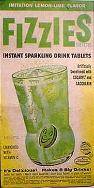 Fizzies Lemon-Lime flavor c. 1960 ❤Baby Boomers ❤