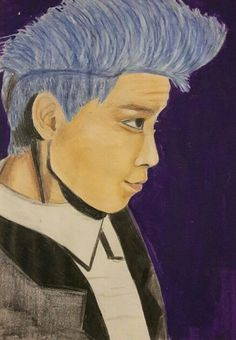 T.O.P's portrait  #bigbang #drawing #top