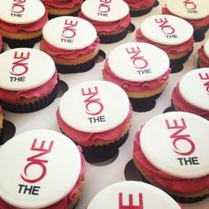 Anniversary Cupcakes, 40th Anniversary, Company Anniversary, Cupcake Logo, Edible Printing, Event Branding, Bakery Design, Milk Tea, Corporate Gifts
