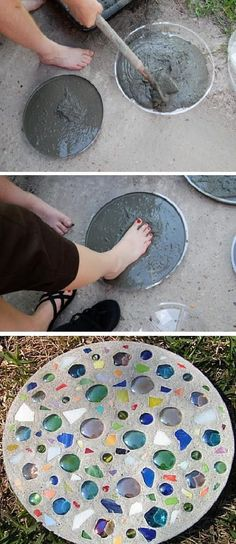 Making Stepping Stones [