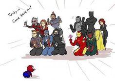 Spiderman in Civil War