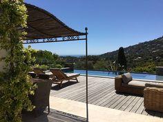 St Tropez et environs, Villa de vacances avec 4 chambres pour 9 personnes. Réservez la location 1930871 avec Abritel. GOLFE DE ST TROPEZ - VILLA RENOVEE - VUE MER - PISCINE CHAUFFEE - PLEIN SUD