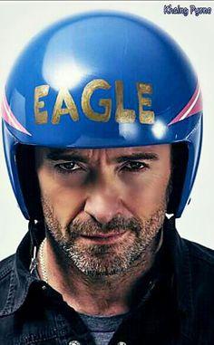 Hugh Jackman, Wolverine, Bicycle Helmet, Hats, Sombreros, Caps Hats, Celebs, Hat, Cycling Helmet