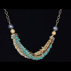 one of a kind necklace from Parijata Designs www.parijatarocks.com..like us on facebook spring 2013 preview