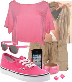 """""""PINK SWAGG"""" by mizzflygurl13 on Polyvore"""