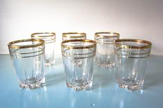 Vintage MCM shot glasses, vintage barware, wedding shot glasses, set of six shot glasses, 60s, retro glasses, wedding gift, birthday gift. by thevintagemagpie01 on Etsy Wedding Shot Glasses, Magpie, Cottage Chic, Barware, Wedding Gifts, Birthday Gifts, Retro, Vintage, Year Anniversary Gifts