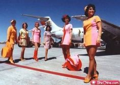 Vintage Stewardess Pictures - Flight Attendant Photos From The Past When The Airlines Only Hired The Hot Sexy Stewardess. Pin Up, Airline Uniforms, Airplane Pilot, Intelligent Women, Funny Fashion, Women's Fashion, Glamour, Attendance, Vintage Travel
