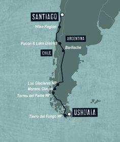 Patagonia & Amazon between Santiago and Ushuaia - holidays by Dragoman - It was amazing : )
