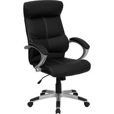 Found it at Wayfair - High-Back Leather Executive Chair