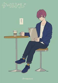 Marvelous Learn To Draw Manga Ideas. Exquisite Learn To Draw Manga Ideas. Character Art, Character Design, Anime Girl Dress, Boy Illustration, Handsome Anime Guys, Ecchi, Manga Boy, How To Draw Hair, Anime Artwork