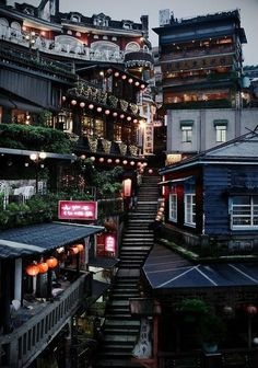 Stairway, Taipei, Taiwan photo by hazel