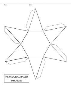 printable shapes alphabetical list of 3d geometric shapes nets
