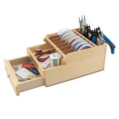 Best Organization Solutions for Beaders: Jewelry Wire and Tool Caddies, Plier Stands and Holder