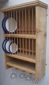 plate rack wine glasses below & Stroud Oak plate rack - £276 u2026 | Pinteresu2026
